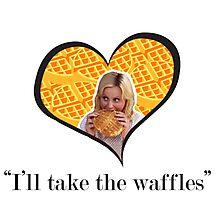 I'll Take The Waffles Photographic Print