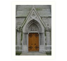 Church Arched Doorway Art Print