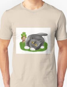 Toadstool Frog and Kitten T-Shirt