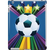 Soccer Ball with Stars 6 iPad Case/Skin