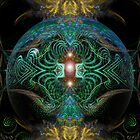 Fractal Temple by webgrrl