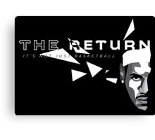 The Return Canvas Print