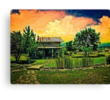 Spring Storm Up Near Fredericksburg Texas on a Recent Road Trip with VivaChas! ~;0) Canvas Print