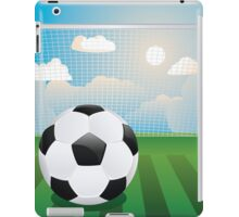 Soccer Goal with Ball iPad Case/Skin