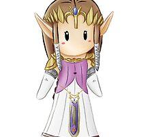 Mini Zelda by FandomTrash14