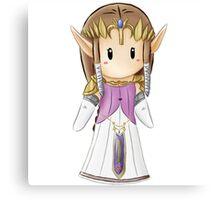 Mini Zelda Canvas Print