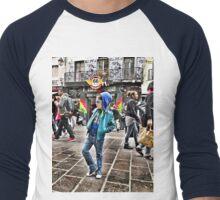 Shopping street Men's Baseball ¾ T-Shirt