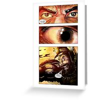 Flash Gordon 'Prince Vultan and his Hawkmen' Greeting Card