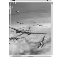 Battle of Britain Day black and white version iPad Case/Skin