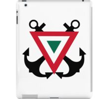 Mexican Naval Aviation - Roundel iPad Case/Skin