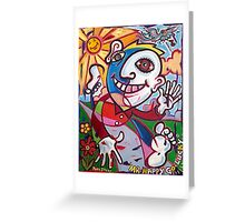 'MR. HAPPY-GO-LUCKY' Greeting Card
