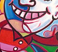 'MR. HAPPY-GO-LUCKY' Sticker