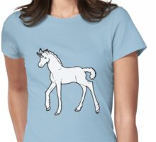 Baby Unicorn Womens Fitted T-Shirt