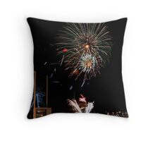 New Years Eve Fireworks 3 Throw Pillow
