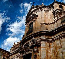 Chiesa di San Giuliano, via Crociferi Catania by Andrea Rapisarda