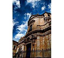 Chiesa di San Giuliano, via Crociferi Catania Photographic Print