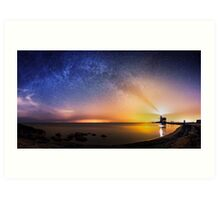 Guide the Milky Way Art Print