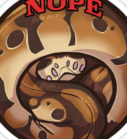 Nopesnake Sticker