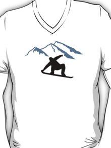 Snowboarder mountains T-Shirt