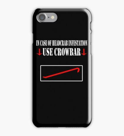 Half Life - Crowbar iPhone Case/Skin