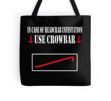 Half Life - Crowbar Tote Bag