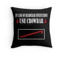 Half Life - Crowbar Throw Pillow
