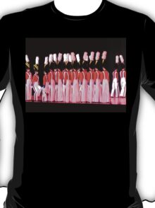 Soldiers, Wooden T-Shirt