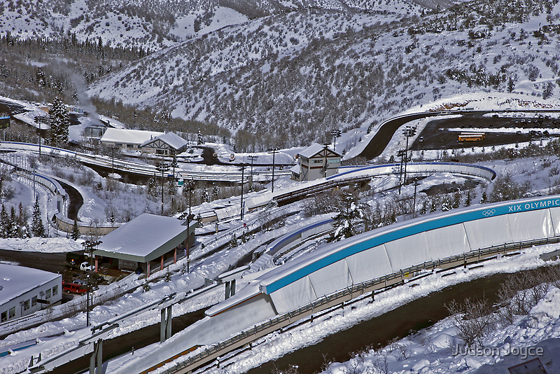 Park City Olympic Bobsled Course by Judson Joyce