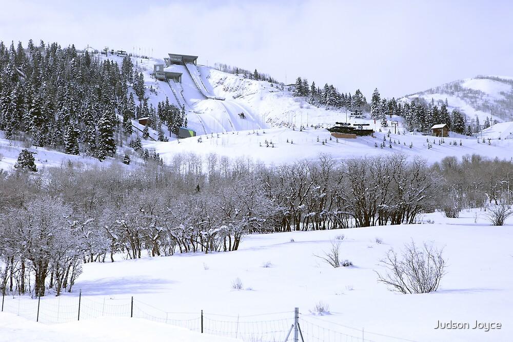 Park City Olympic Ski Jump by Judson Joyce