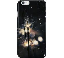 Sparkler and snow 3 iPhone Case/Skin
