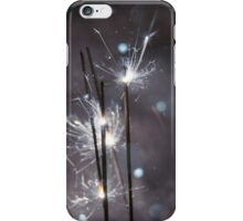 Sparkler and snow 5 iPhone Case/Skin