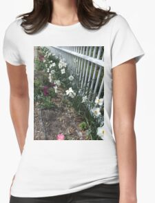 Spring Narcissus Womens Fitted T-Shirt