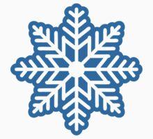 Blue snowflake by Designzz
