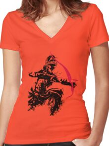 Arjuna Women's Fitted V-Neck T-Shirt