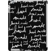 Hand Made black version iPad Case/Skin