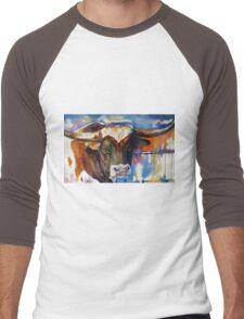 Texas Longhorn Men's Baseball ¾ T-Shirt