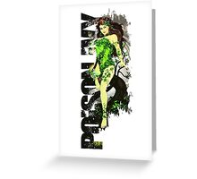Poison Ivy 3D World Greeting Card