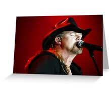 Trace Adkins 2-14-09 Greeting Card