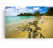 Catamaran Rocks Canvas Print