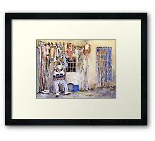 El Rincon De Manuel Framed Print