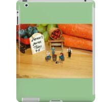 Ye Olde Farmer's Market iPad Case/Skin
