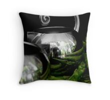 Still life with asparagus Throw Pillow