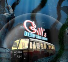 Gill's Deep Sea Diner Sticker