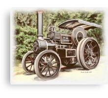 Burrell Steam Traction Engine Canvas Print