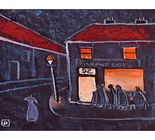 Fish and Chip Shop Photographic Print