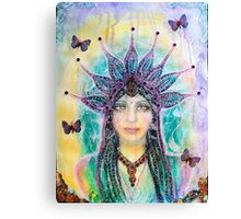 Amalah - Pristess of regeneration Canvas Print