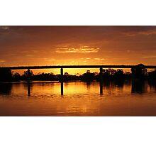 Berri Sunset Photographic Print