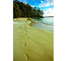 Leave Nothing But Footprints Photographic Print