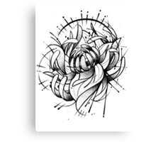 Freaky Lotus Canvas Print