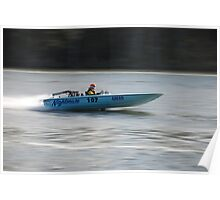 Speed Boat Poster